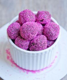 Vegan Chocolate Ginger Truffles  http://tastykitchen.com/recipes/desserts/vegan-chocolate-ginger-truffles/