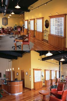 lux eyeware optical office design barbara wright design