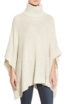 cupcakes and cashmere 'Maya' Poncho available at #Nordstrom