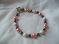 Elegant Beaded Bracelet by TheBlueEyedBeader on Etsy, $13.00