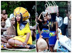 Zulu - uMabo - Gift given from Brides family to Grooms Family Zulu Traditional Attire, Zulu Traditional Wedding, Zulu Wedding, Wedding Wear, Wedding Bells, South African Weddings, African American Weddings, Zulu Women, African Women