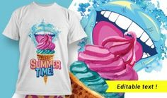 Find the best T-shirt design template from our summer collection to make your this summer season awsome. So check out our T-shirt design 1923 now! Best T Shirt Designs, Cool Designs, T Shirt Design Template, Back To School Sales, Photoshop Brushes, Summer Tshirts, Sign Design, Summer Collection, Cool T Shirts