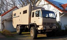 Steyr 12M18, mechanics of MAN truck, 6-speed, large drivers cab.