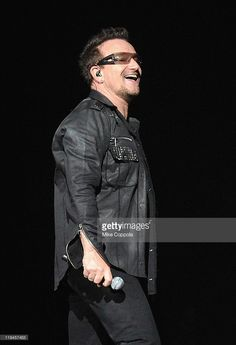 U2 lead singer Bono performs at the New Meadowlands Stadium on July 20, 2011 in East Rutherford, New Jersey.