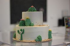 I want this cake for my birthday. #cactus #cakes #cacti Shared to us by The…
