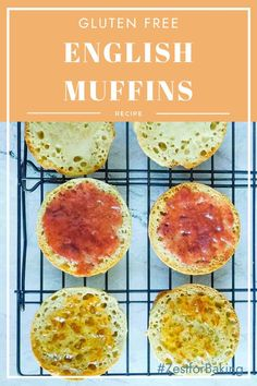 Step by Step to the Best Gluten Free English Muffins. Who says making English muffins is hard? Not with our step by step directions! #zestforbaking #glutenfreemuffins #glutenfreebaking
