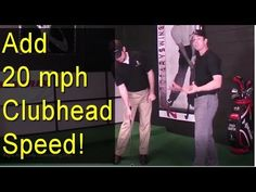 (7) MORE GOLF SWING SPEED - Right Arm Only Downswing Drill - YouTube