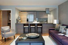 th2 Designs.© Interior design, purple, styling, furniture, kitchen, home decor