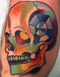 @Wesley @David - Rad skull by DAVEEEEE!!! Pinned from Conspiracy Inc. blog.