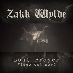 "Zakk Wylde Debuts ""Lost Prayer"" Music Video – ZAKK WYLDE DEBUTS ""LOST PRAYER"" MUSIC VIDEO  BOOK OF SHADOWS II OUT NOW   ZAKK SABBATH SOCAL TOUR DATES ANNOUNCED EXPERIENCE HENDRIX TOUR DATES ON SALE NOW!    Guitar icon ZAKK WYLDE today has debuted an all new music video for his latest track ""Lost Prayer"" from his latest solo LP Book of... #bookofshadowsii #lostprayer #zakkwylde"