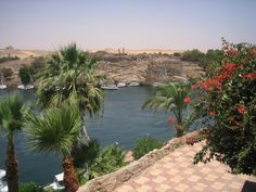 The Old Cataract Hotel in Aswan, where Agatha Christie wrote Death on The Nile. #Egypt