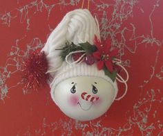 lightbulb ornaments - Crafts and Decorations