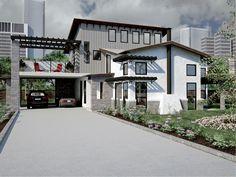 Contemporary Home Plan, 036H-0045