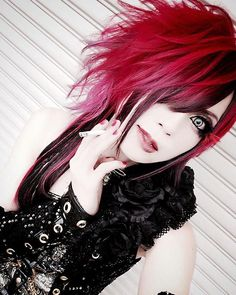 #lira  #elysion Japanese Makeup, Visual Kei, Eyeliner, Rock, Instagram, Guitars, Skirt, Locks, Rock Music