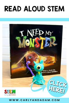 Can your elementary STEM students create the perfect Monster? Connect STEM, literacy, and writing with this Halloween STEM activity by Carly and Adam. Challenge your students to engineer a monster! An excellent companion activity to the October STEM read-aloud book I Need My Monster by Amanda Noll.