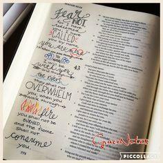 Isaiah 43:1-2 Bible Journaling                                                                                                                                                      More