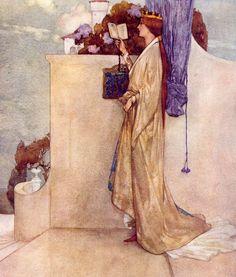 "Art by William Russell Flint (1909) - ""Savoy Operas."""