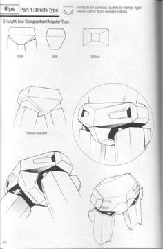 Como Desenhar Mangá - Robôs