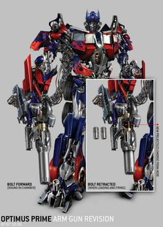 Optimus Prime! Listen to his voice  see the 3D ride! https://www.youtube.com/watch?v=_JMu8cw_Jjw