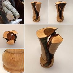 """Unwanted Shrub"" For more woodturning tips visit http://www.handymantips.org/category/woodworking/"