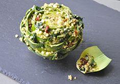 quinoa stuffed artichokes