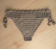 Luce marrone Crochet Bikini Sexy costumi da bagno di formalhouse