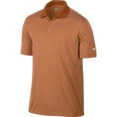 Nike Golf Victory Stripe Polo - Desert Orange/White