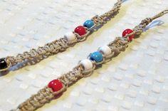 Square Knot Beaded Hemp Bracelet : Factory Direct Craft Blog