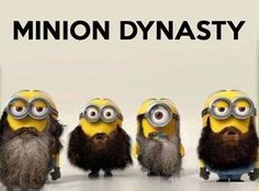 Duck dynasty minions I love this my three fav things minions,beards,and duck dynasty!!! Thanks Emily for pinning!