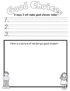 Pictures Making Good Decisions Worksheets - Studioxcess