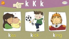 The K Chant   Phonics and Vocabulary   Think Read Write   ELF Learning