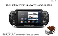 "S5110 5"" Android4.0 Cortex A9 1GHz CPU 512M 4G OTG DDR3 HDMI Capacity Touch Screen Game Console with Cameras TV Output $78.25"