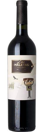 Las Maletas Malbec, created for Peñaflor Mendoza, Malbec, Blackberry, Packaging Design, Wine, Drinks, Bottle, Create, Suitcases