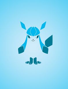 Eevee Gradient Collection - Glaceon