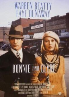 BONNIE AND CLYDE (1967) ~ Warren Beatty + Faye Dunaway. Watch last scene and compare with last scene in Butch Cassidy and the Sundance kid. Discuss...lol