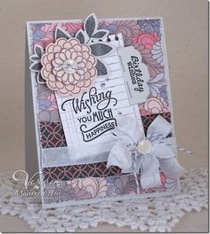 Card by Maureen Plut using Verve Stamps.  #vervestamps