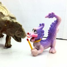 Dragon - Purple - Happy Meal Mc Donald 1988