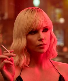 theroning:Charlize Theron as Lorraine Broughton in 'Atomic...