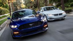 Contacto: Ford Mustang vs BMW Serie 4