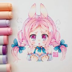 how to draw girl Anime Drawings Sketches, Anime Sketch, Kawaii Drawings, Manga Drawing, Manga Art, Cute Drawings, Chibi Manga, Dibujos Anime Chibi, Manga Anime