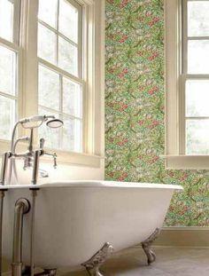 William Morris Golden Lily Wallpaper | Alexander InteriorsDesigner Fabric