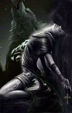 In book one Cassie Renshaw sold her soul to a demon. In book 2 of the Soulchester Chronicles, the demon is out and looking for revenge. Dark Fantasy Art, Fantasy Kunst, Dark Art, Dark Gothic Art, Wolf Sketch, Arte Obscura, Chicano Art, Wolf Girl, Wolf Tattoos