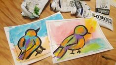 10% funded in the first day!!  Thank you!! #kickstarter #make100 #colorful #birdpaintings #winjimir