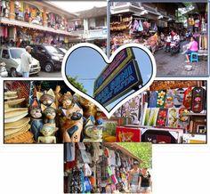 Pasar Seni Kuta Bali, betul-betul berseni
