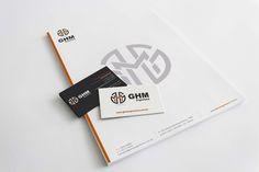Cartão + Timbrado da GHM Engenharia
