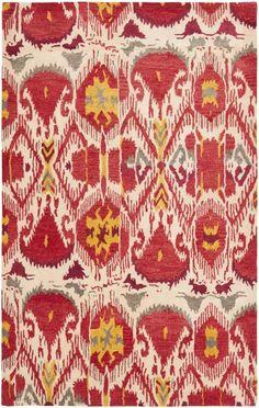 Rug IKT226A - Safavieh Rugs - Ikat Rugs - Wool Rugs - Area Rugs - Runner Rugs