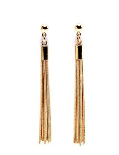 Jewelry for Women: Snake Chain Linear Earrings: The Limited