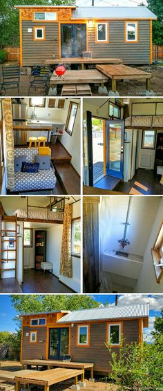 A tiny house by Rocky Mountain Tiny Homes