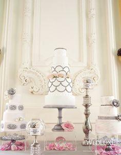 Best Cake Decorating Book Ever! http://www.amazon.com/gp/product/143918352X/ref=as_li_tl?ie=UTF8&camp=211189&creative=373489&creativeASIN=143918352X&link_code=as3&tag=alejanguerre-20&linkId=XJTFX462YWMZO4ZB - Impressive luxury #WeddingCakes