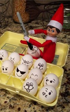 Elf on the Shelf Ideas for Christmas 2020 (crazy elf! such PRANKS! Elf on the Shelf Ideas for Christmas 2020 (crazy elf! such PRANKS!), Elf on the Shelf Ideas for Christmas 2020 (crazy elf! such PRANKS! Christmas Elf, Christmas 2019, Christmas Pranks, Christmas Costumes, Christmas Tables, Nordic Christmas, Christmas Ideas, Awesome Elf On The Shelf Ideas, Elf On The Shelf Ideas For Toddlers